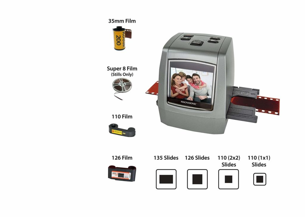 All in One High Resolution 22MP Negative Film Scanner