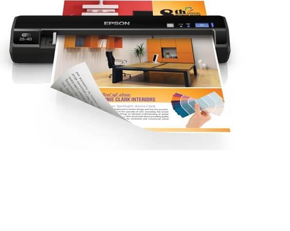 Epson WorkForce DS 40 Best Portable Document Receipt Scan Device 2021