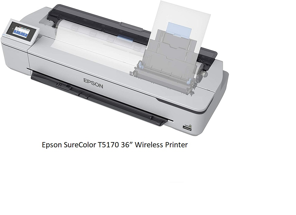 Epson SureColor T5170 – 36 inch Best Wireless Large Format Printer