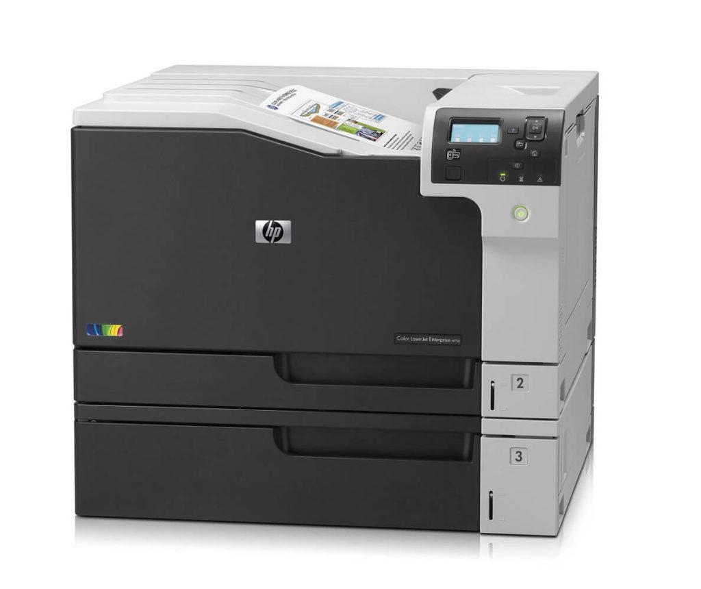 HP Color LaserJet Enterprise M750n Best HP 11x17 Printer in 2021