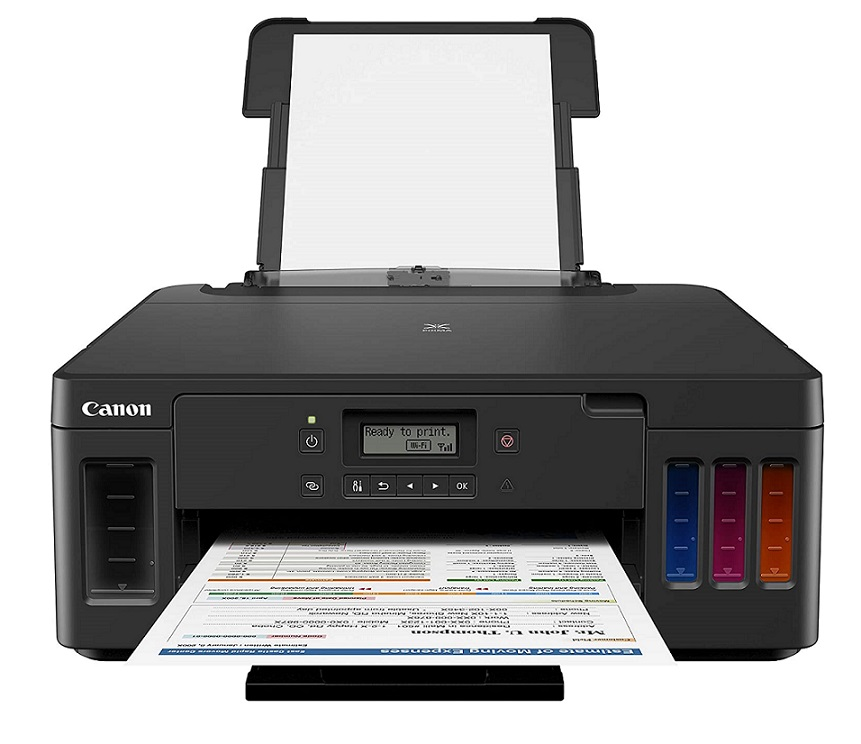 Canon Pixma G5020 Wireless MegaTank Best affordable printer with the longest ink life