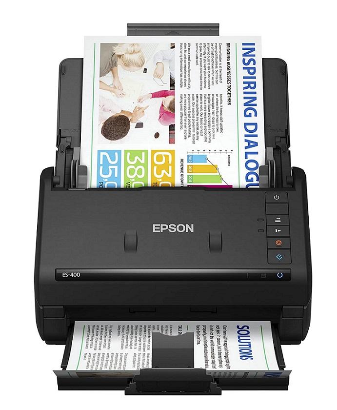 Epson WorkForce ES 400 - Best High Speed Document Scanner by Epson