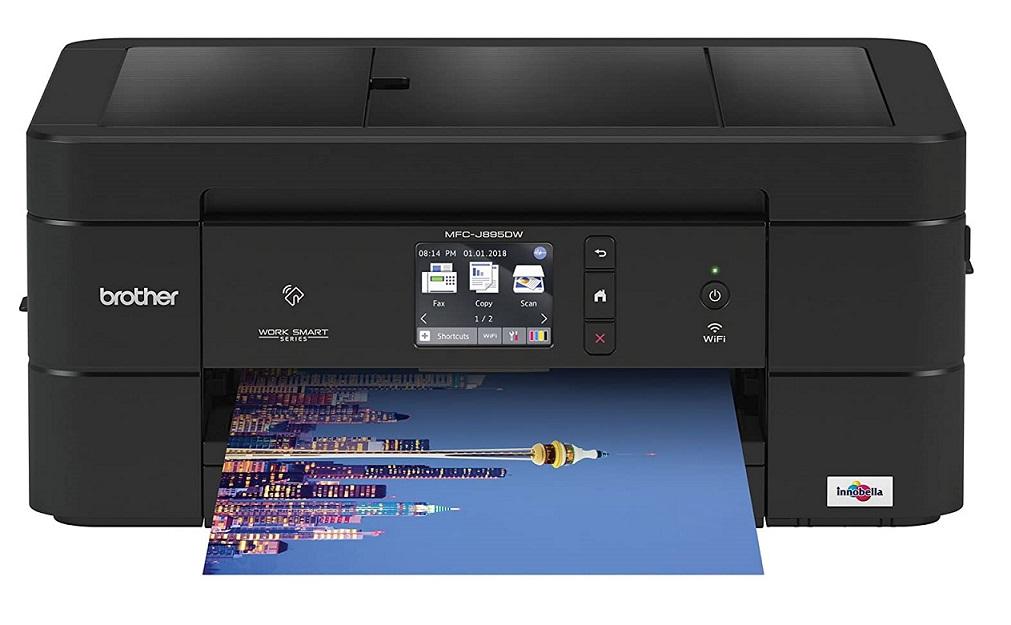 Brother Wireless sticker printing printer