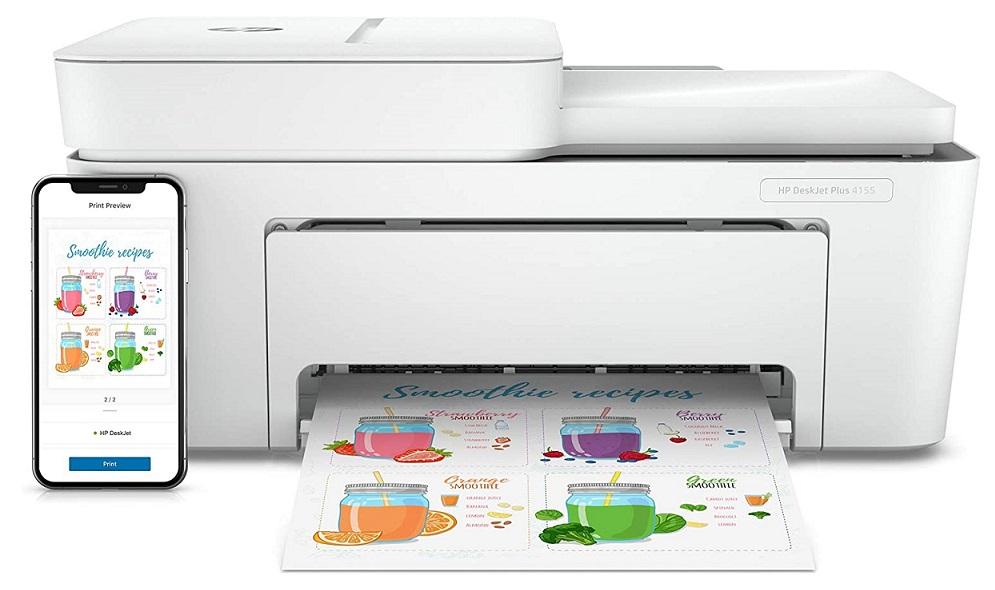 HP DeskJet Plus 4155 Cheap Sticker Printer